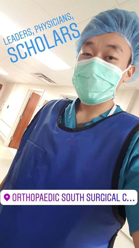 Jasper Tseng  Medical School/Undergrad Institution:  Morehouse School of Medicine  Preceptor:  Dr. Gary Stewart  Summer Location:  Resurgens Orthopaedics