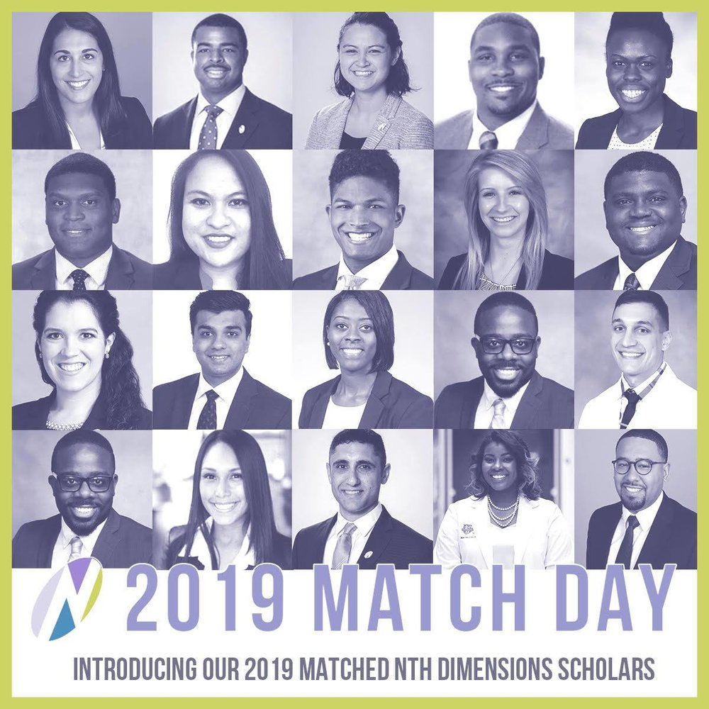 Introducing our 2019 🎉Matched Nth Dimensions Scholars!