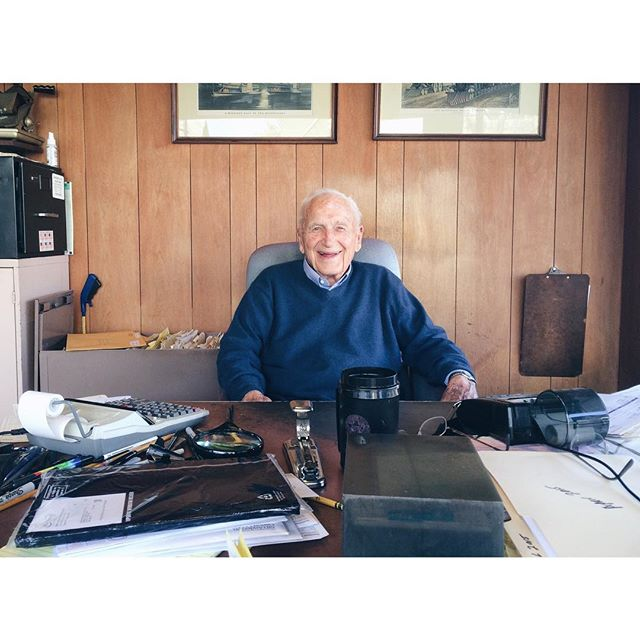 We lost my grandfather this weekend. Chuck Bleeg was a family icon. He still ran his own business at 96 and was one of the best storytellers to ever live. I Ioved to visit his lot and hear tales of early Portalnd days, WWII and building the beach house. He will be greatly missed, but his influence will live on for generations.