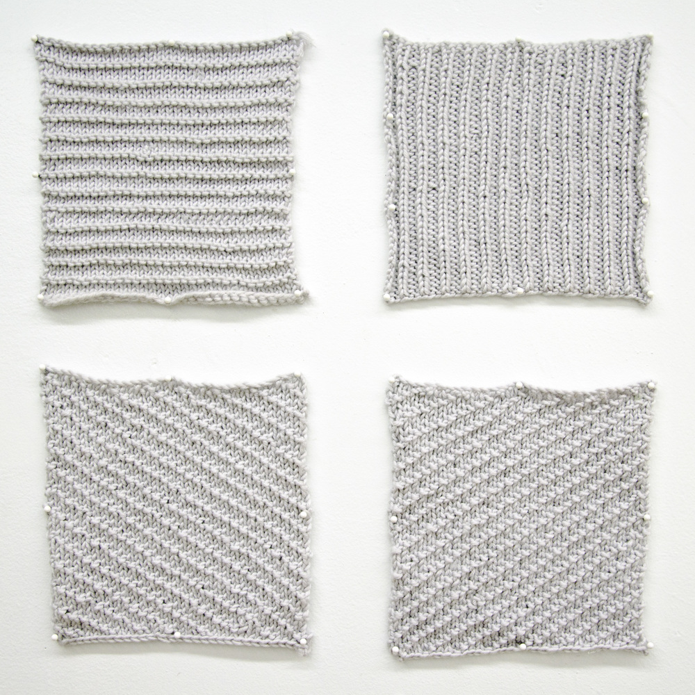 KNITTING, AFTER SOL LEWITT WALL DRAWINGS (2013)