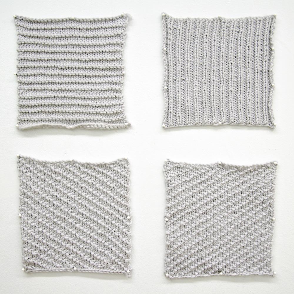 Knitting After Sol Lewitt Wall Drawings Berny Tan
