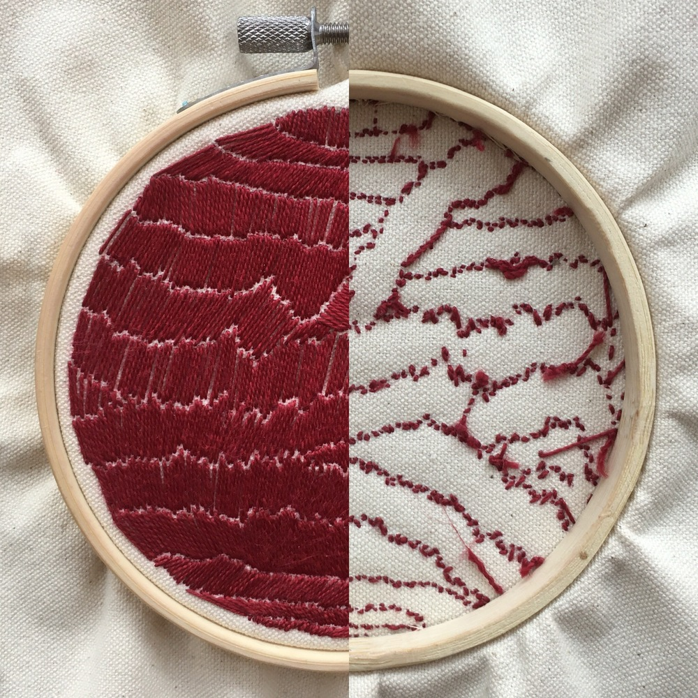 Embroidery Study I ( Front | Back )