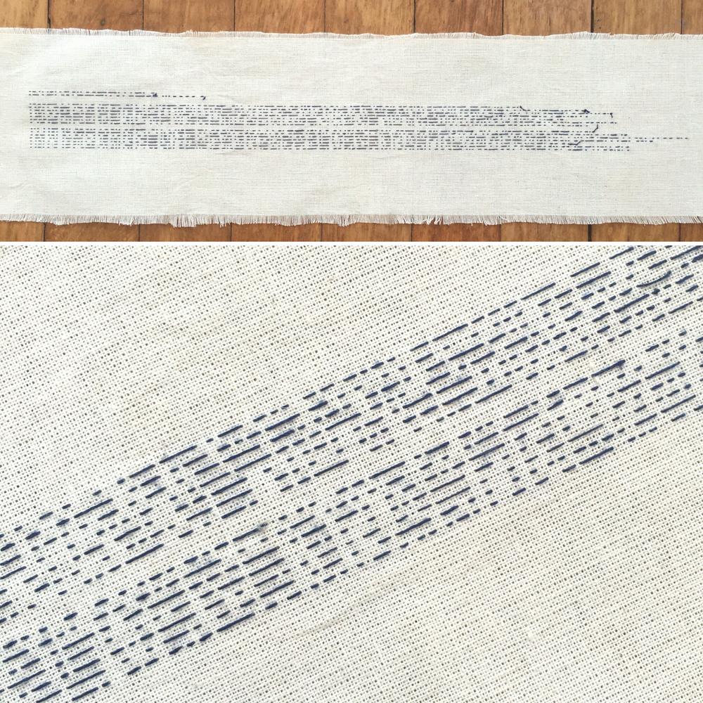 Embroidery Study III