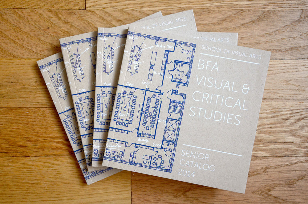 BFA Visual & Critical Studies Senior Catalog, Visual & Critical Studies Department, School of Visual Arts