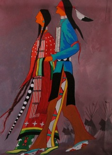 Gerald Yellowhawk 'Rabbit Dance'