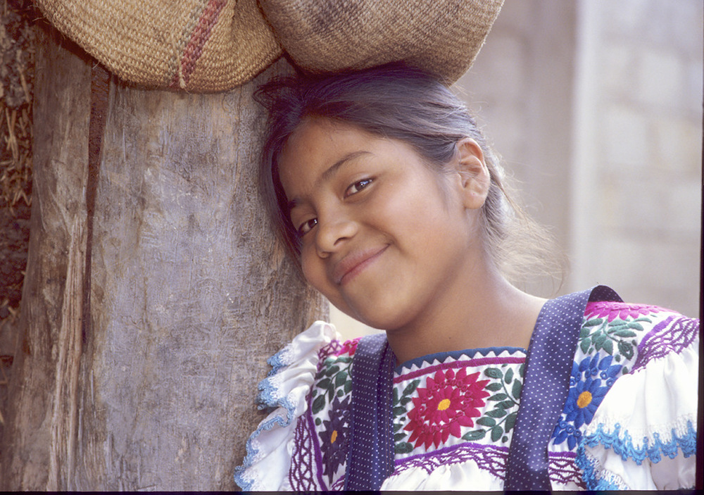 The potter's niece,  Chiapas, Mexico