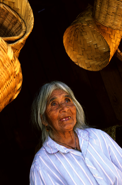 Basket Weaver, Mexico