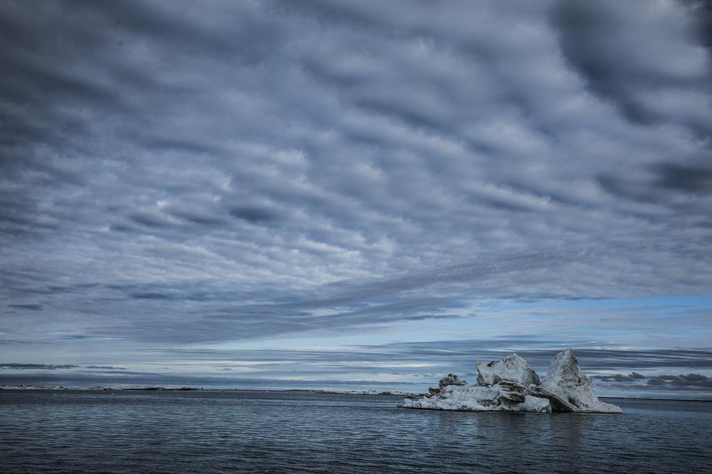 Summer ice on the Arctic Ocean