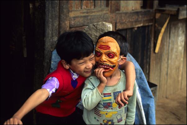 Mask Play, Bhutan