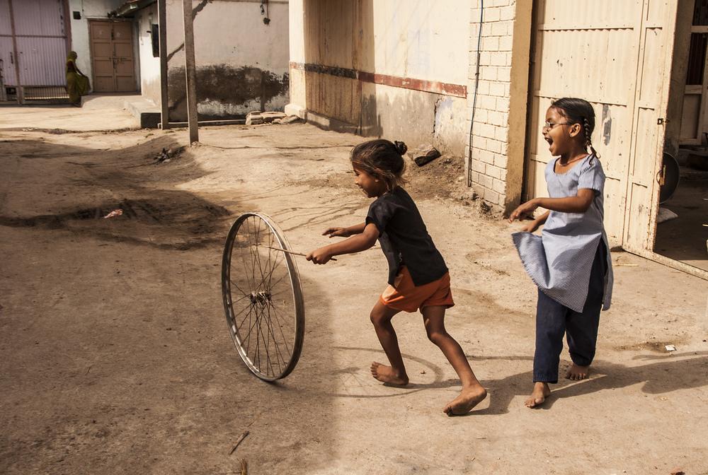 Improvising toys,  India