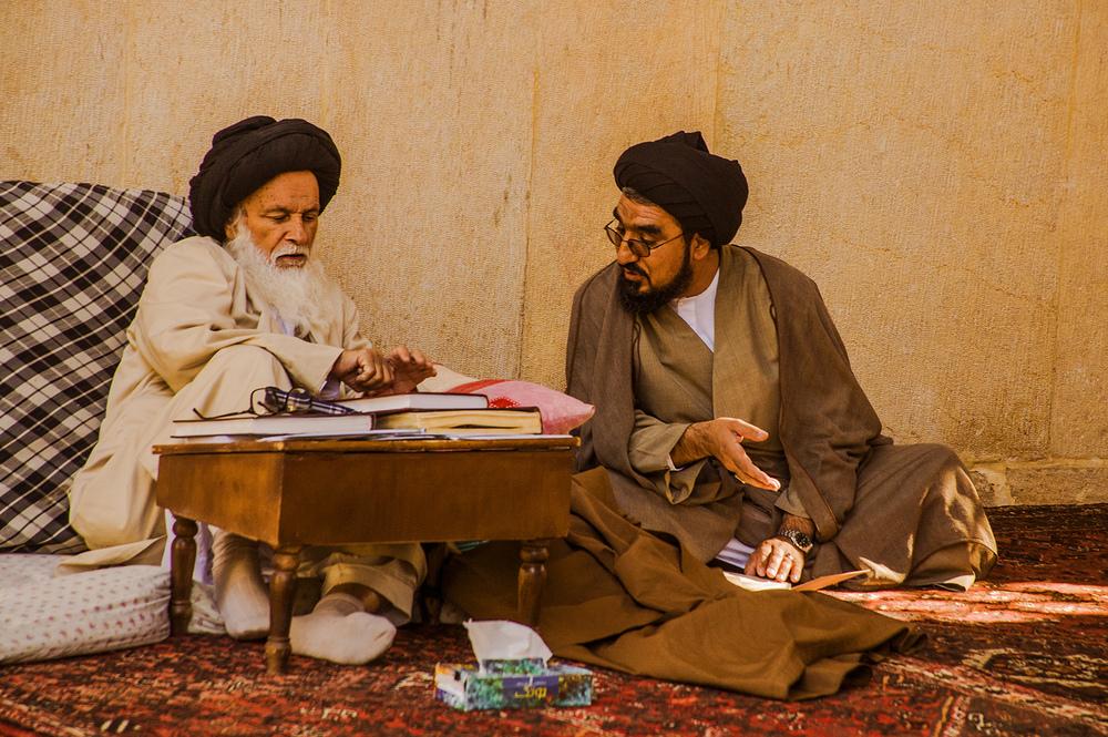 Grand Ayatollah, Madraseh-ye Khan, Iran