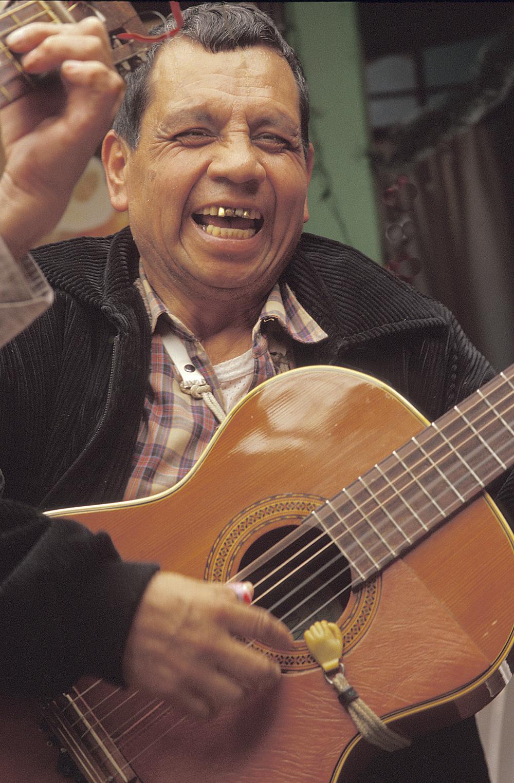 Musician, Oaxaca, Mexico