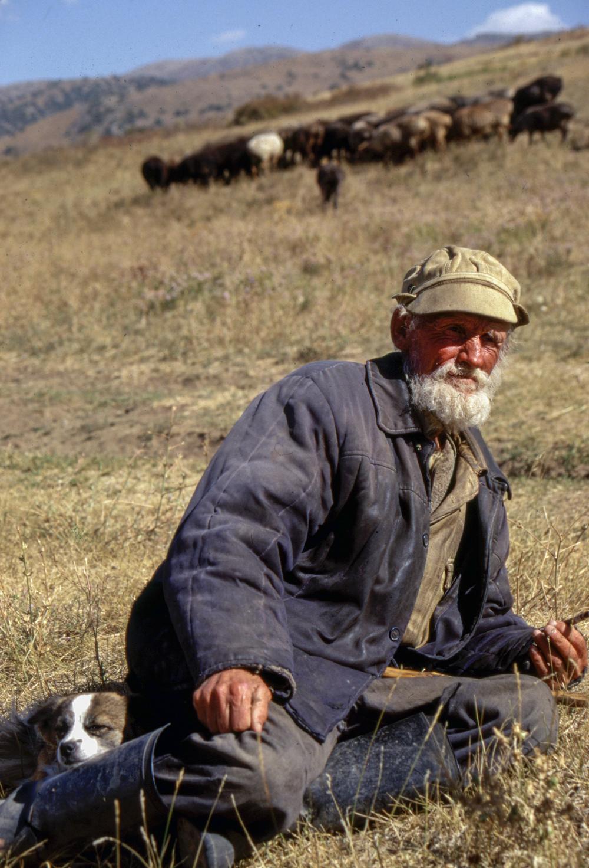 Sheepherder, Uzbekistan