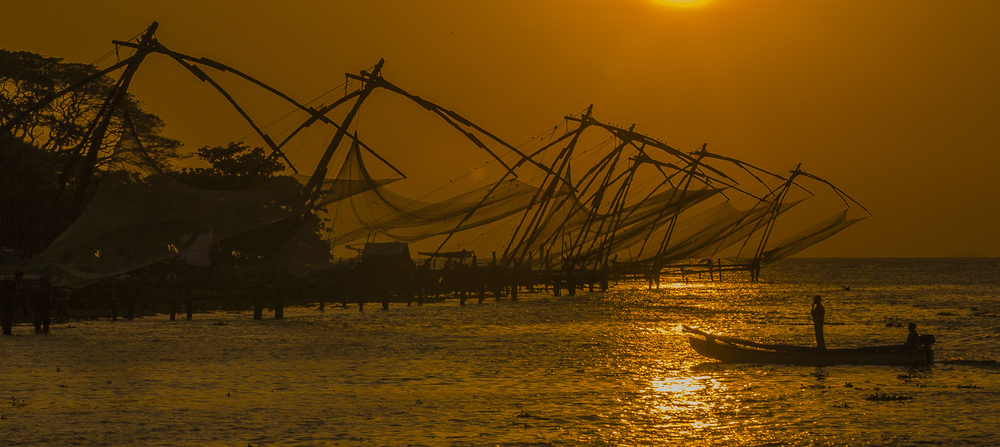 Chinese Fishing Nets, Kochin, India