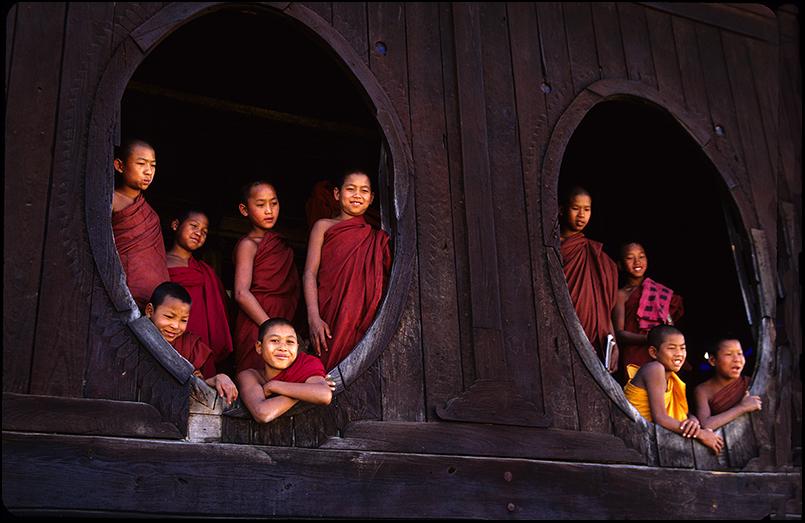 Shwe Yaunghwe Kyaung, Myanmar