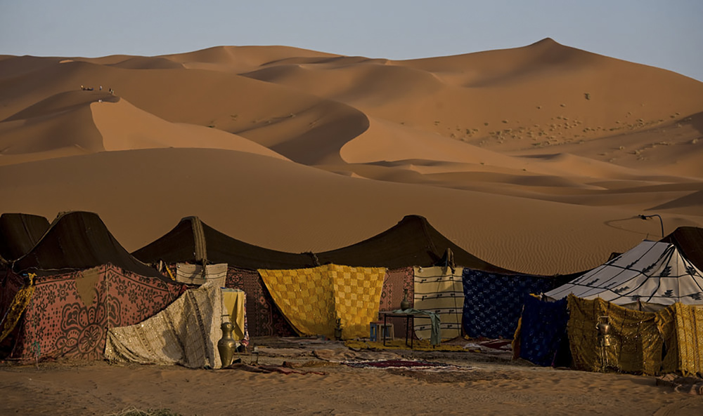 Desert camp, Erg Chebbi
