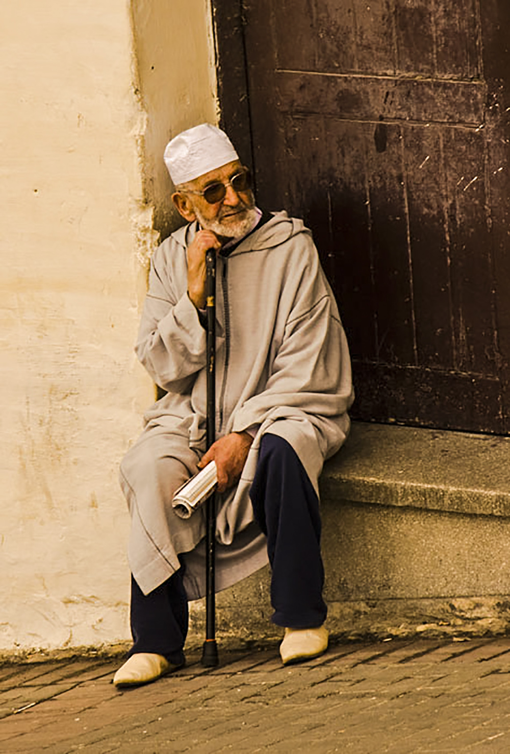 Old man, Tangier
