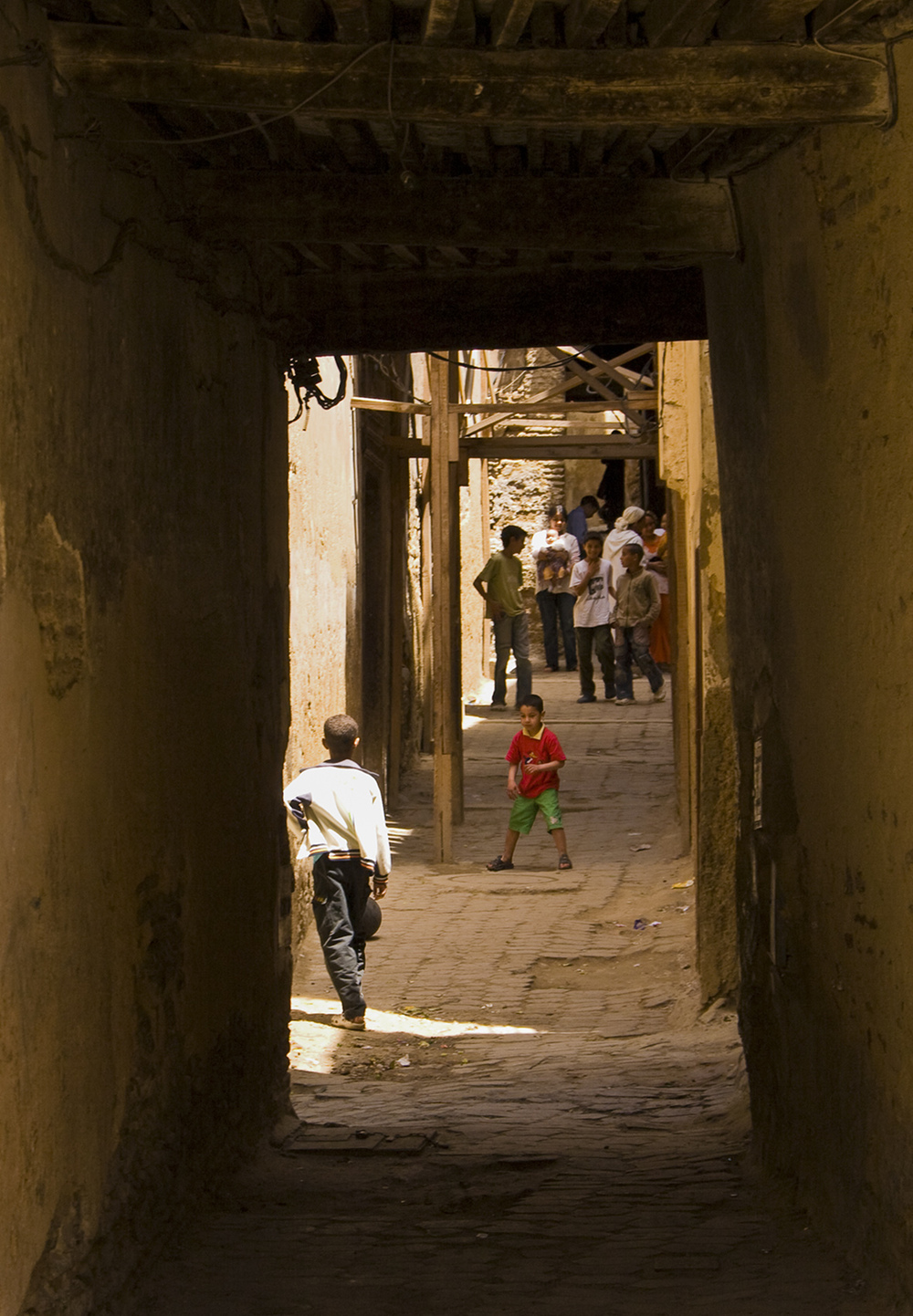In the suq, Fes