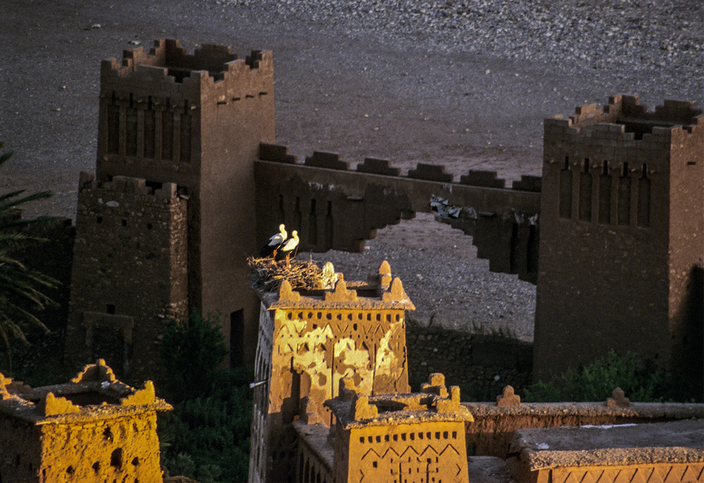 Ait BenHaddou at sunset