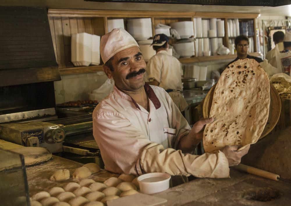 Baker, Shiraz