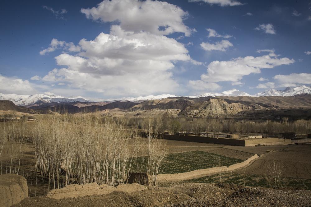Bamiyan landscape