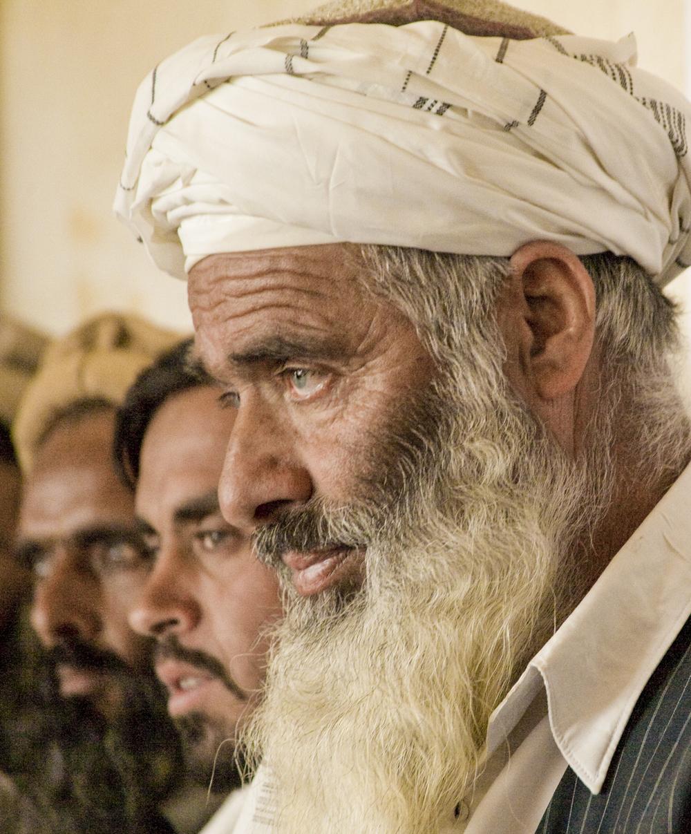 Farza village elder