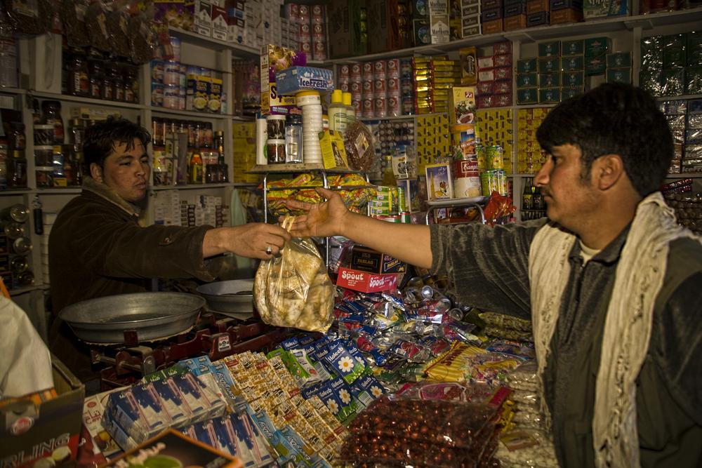 Shopping, Bamiyan