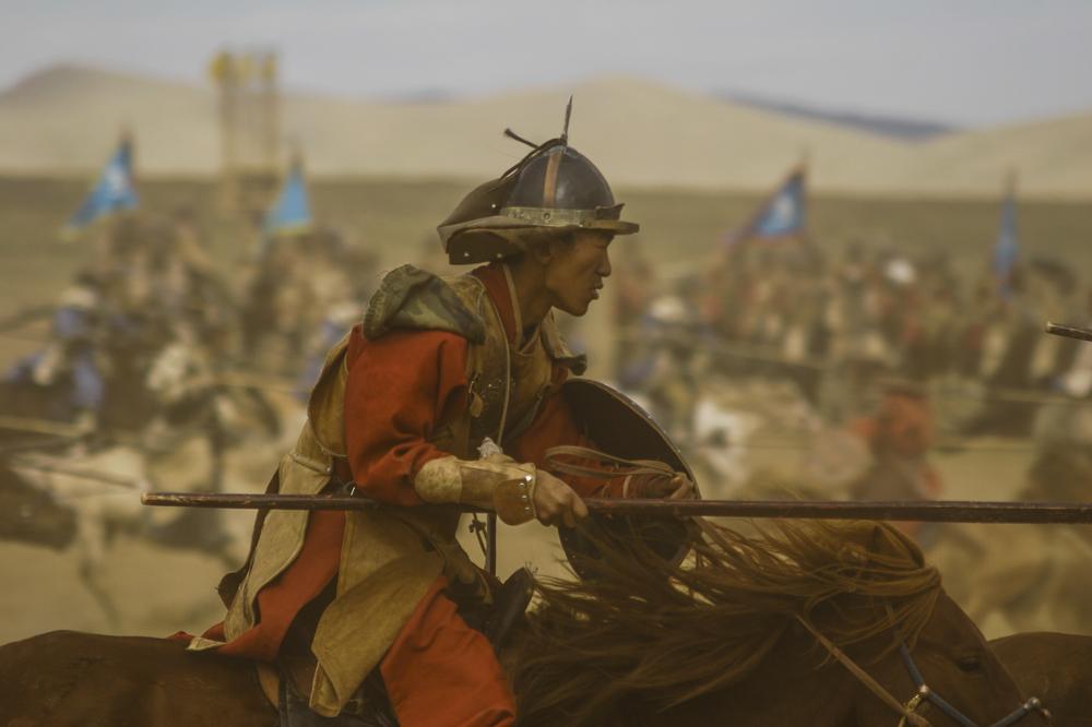 Genghis Khan reenactment