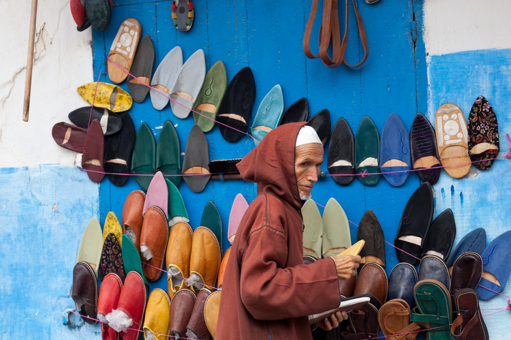 Shoe vendor, Rabat
