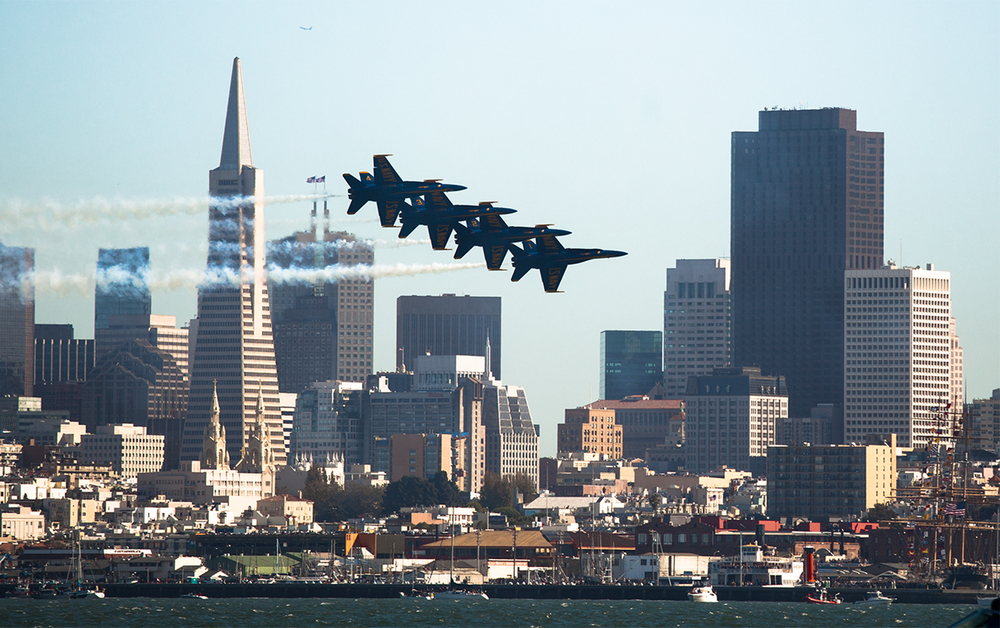Annual Air Show, San Francisco