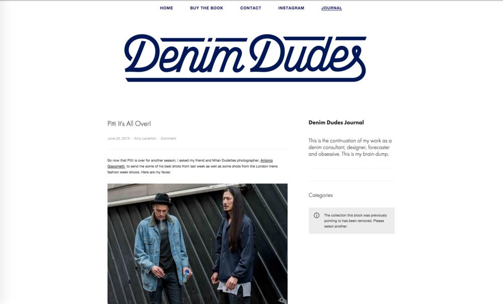 Denim Dudes - LC:M, Pitti88 SS16 STREETSTYLE