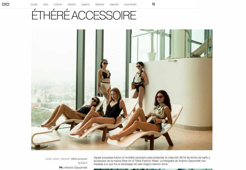 BG MAGAZINE / Contributor Fashion Photography
