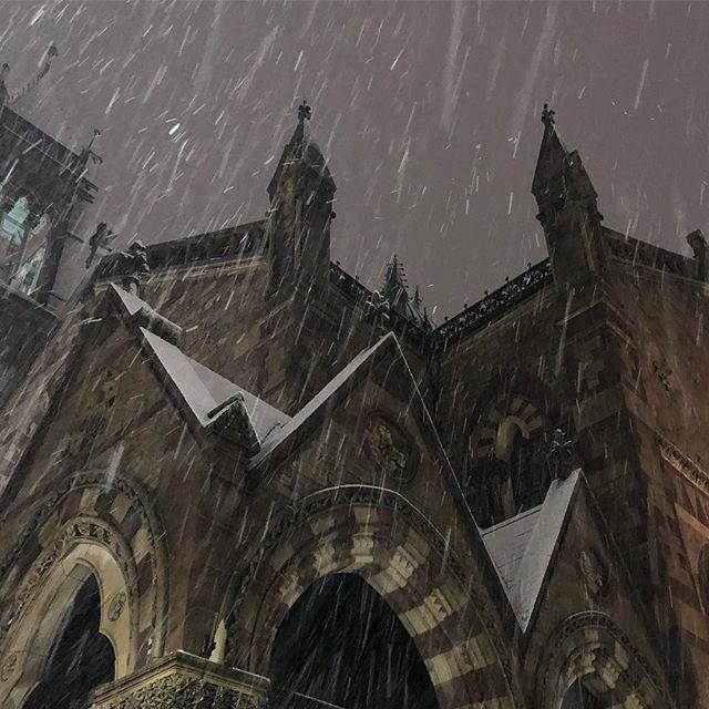 Magic moments #boston #snow