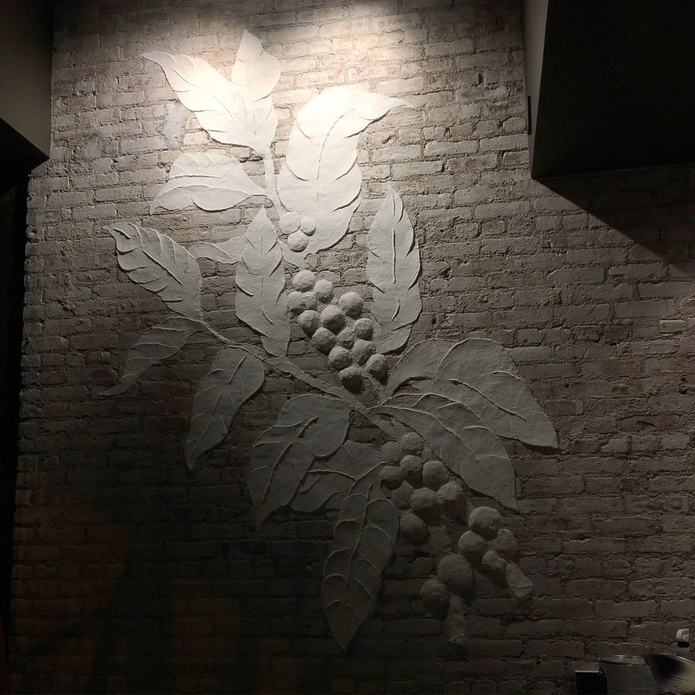 Starbucks - NYC - Plaster Relief