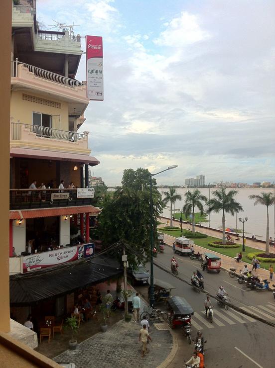Phnom Penh river front