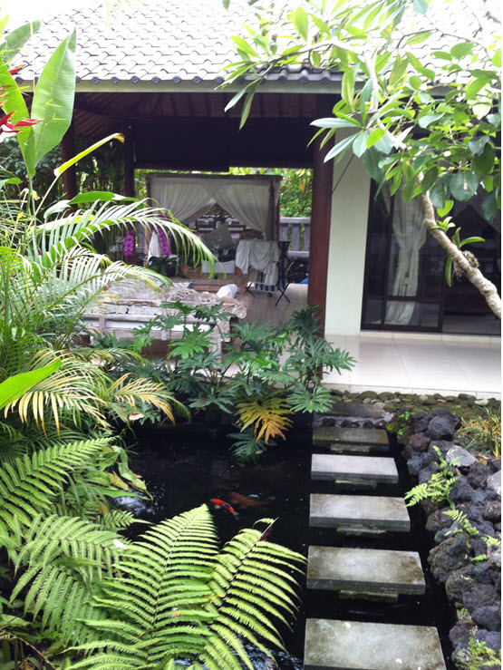 Geoffrey and Michael's Ubud house  - not too bad for $60,000, including the land?