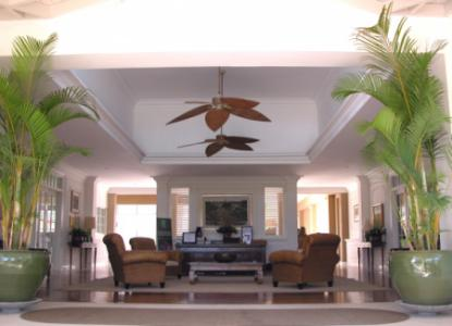 Lobby of Canggu Club