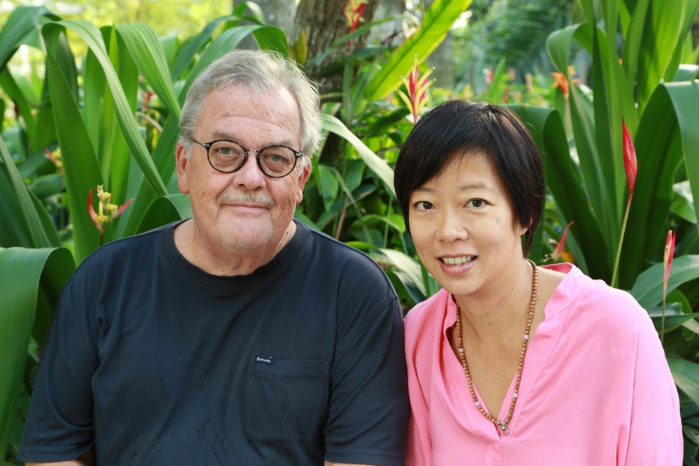 Jim Herrler and Ellen Ma