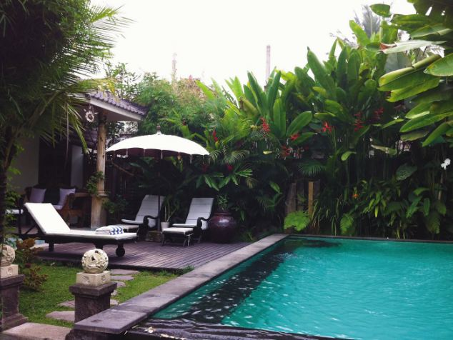 Another home explored in Sell Up, Pack and Take Off, this time from Ubud, Indonesia, which features its own pool