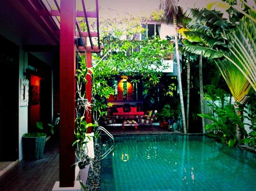 Glen and Sal's house in Phuket Thailand