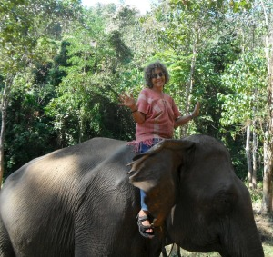 Jennifer, a former librarian, moved to Chiang Mai in Thailand. Photo: richardhughes@fairfaxmedia.com.