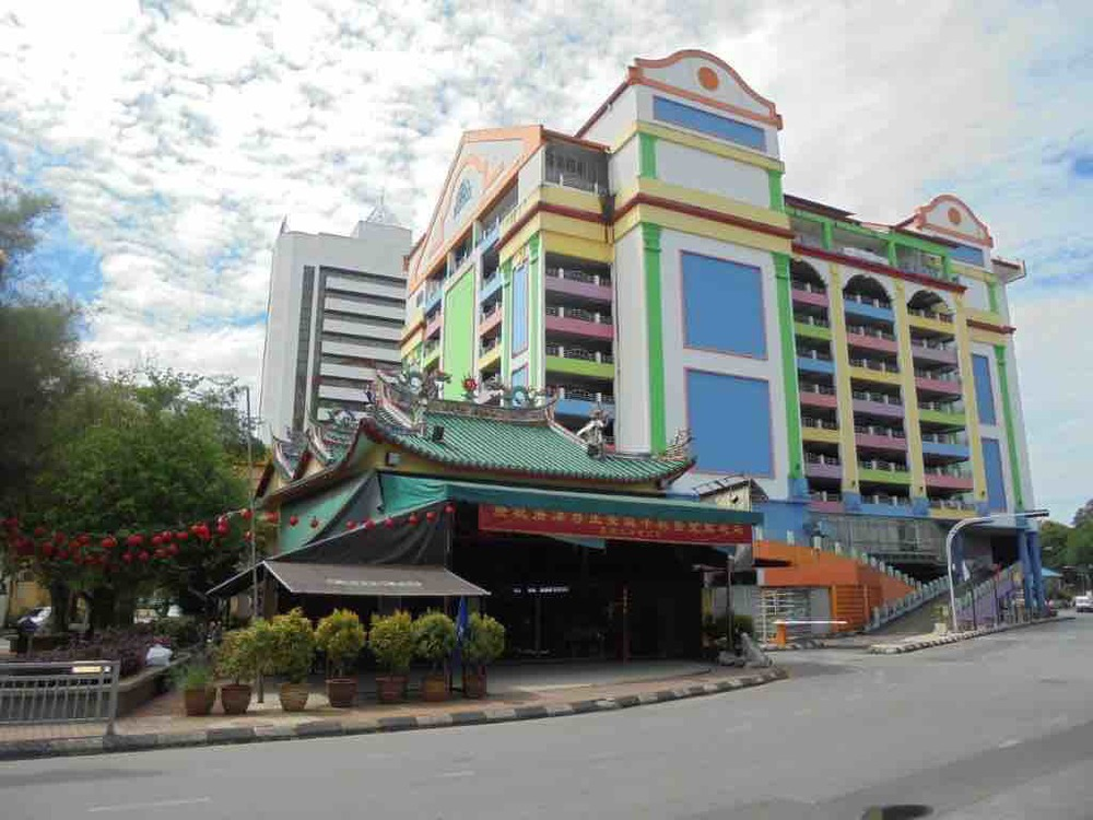 Cake building and Nasi Lemak Temple