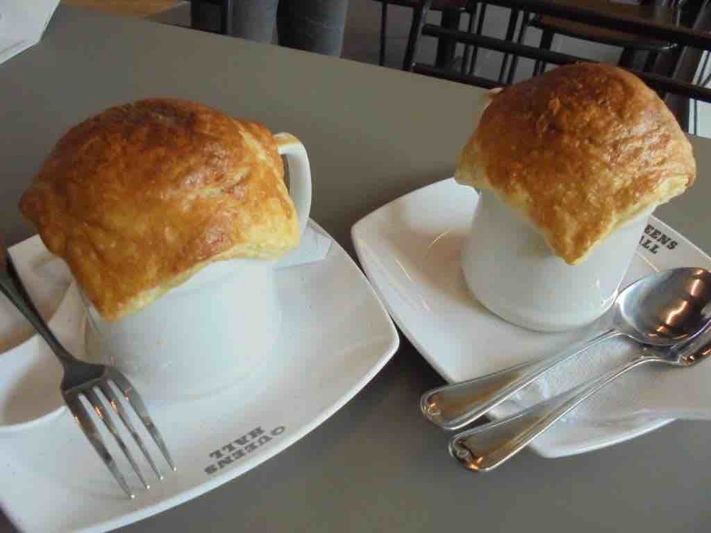 Two hot pot chicken pies
