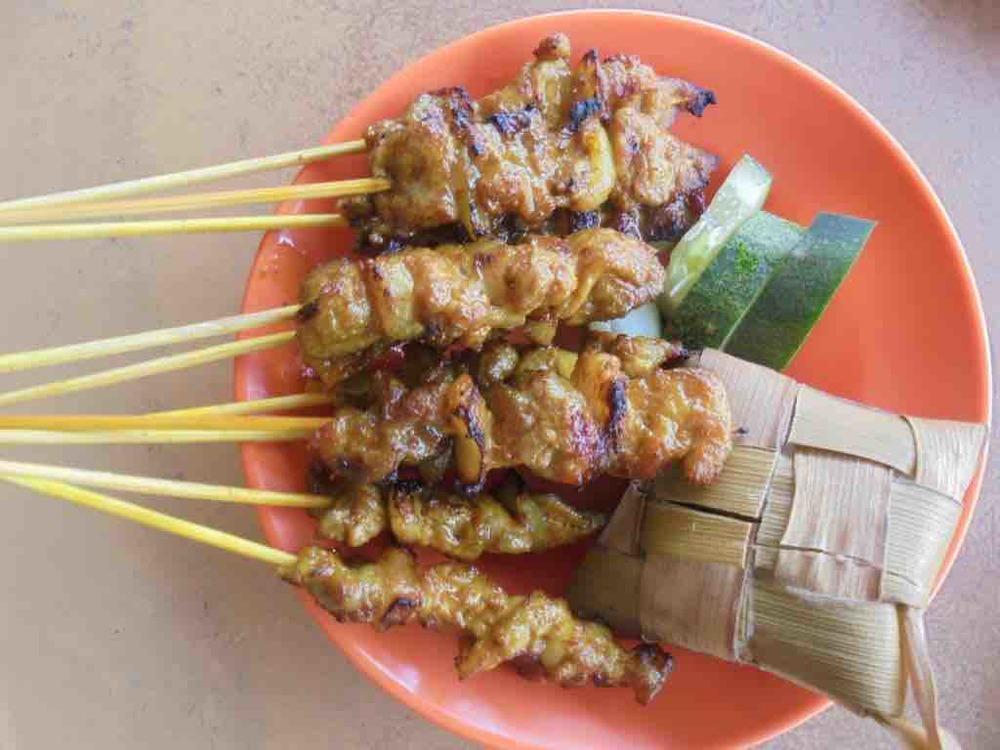 Charcoal Pork Satay