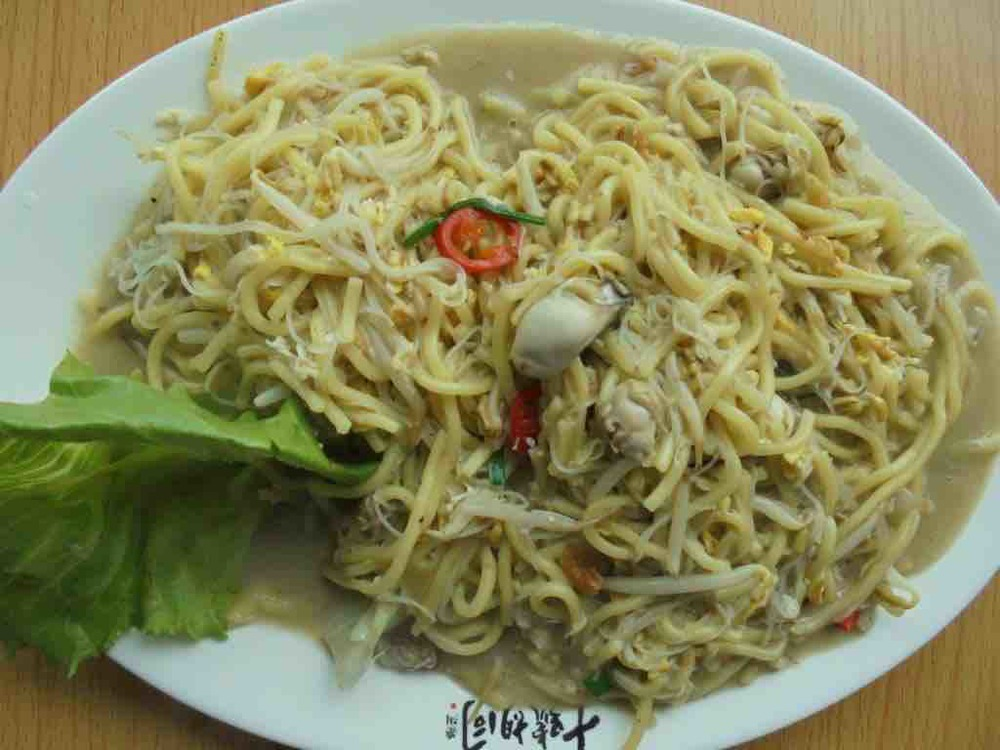 Oyster fried noodles