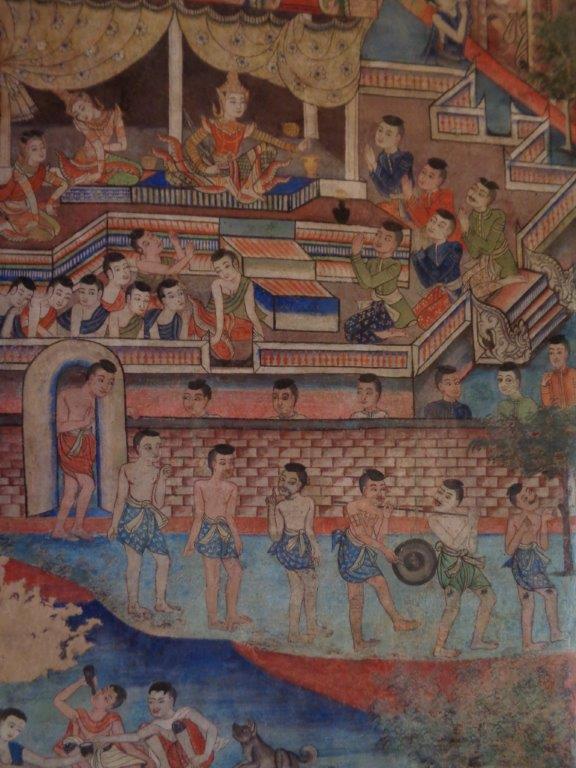 Oldest mural