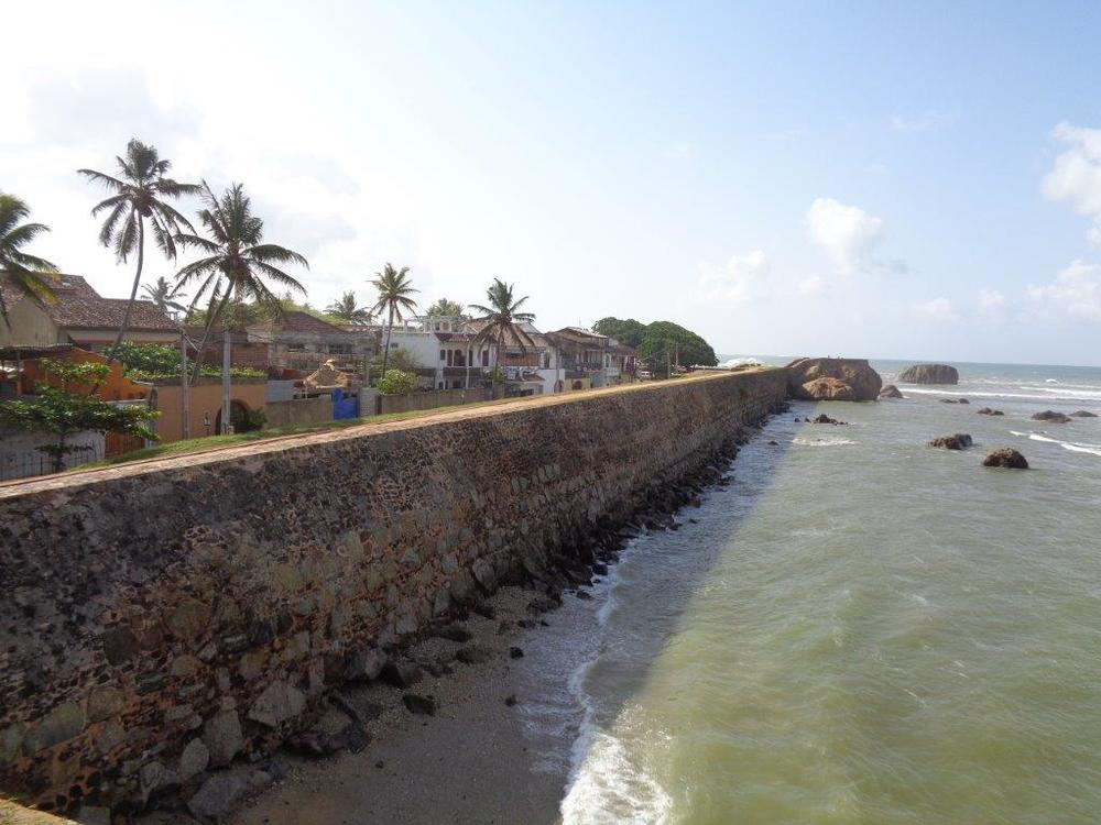 Galle Fort seawall