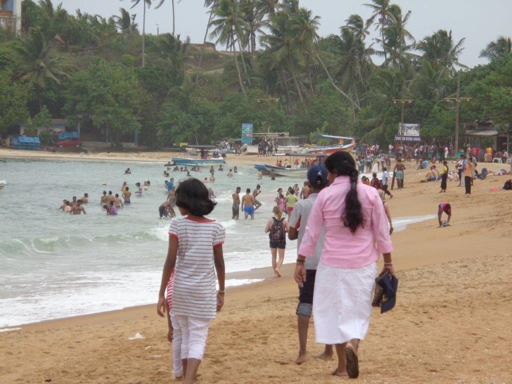 Locals at the beach