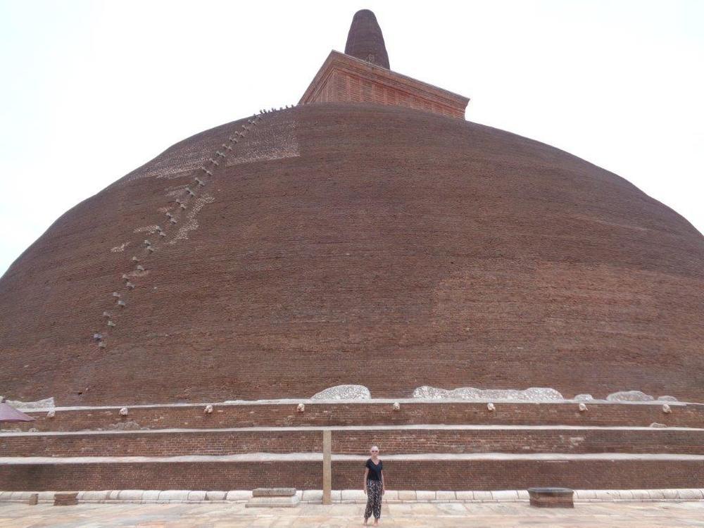 Large stupa