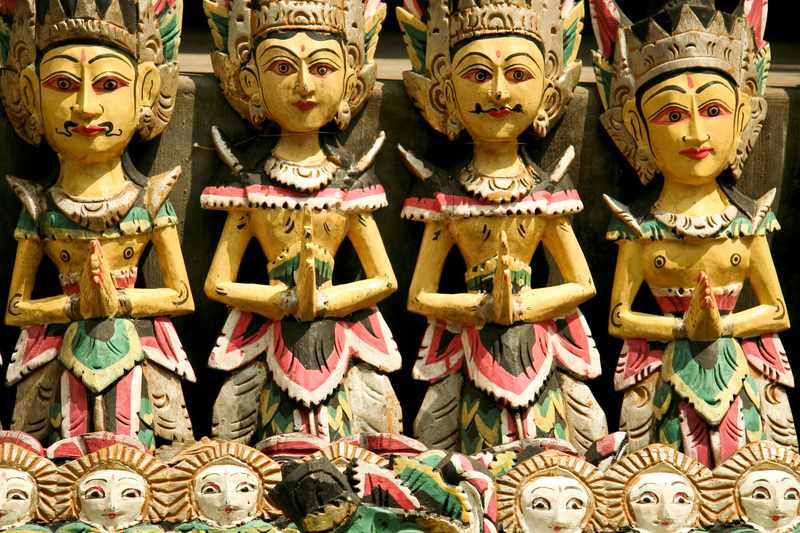 Traditional Balinese Puppets